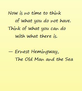 The hero in the novel the old man and the sea by ernest hemingway