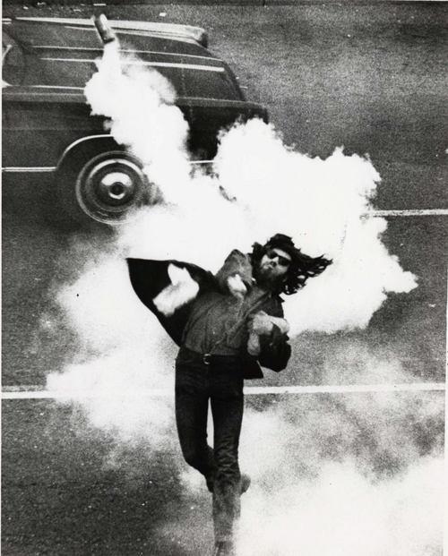 Anti-War Demonstrator, Berkeley (1970)