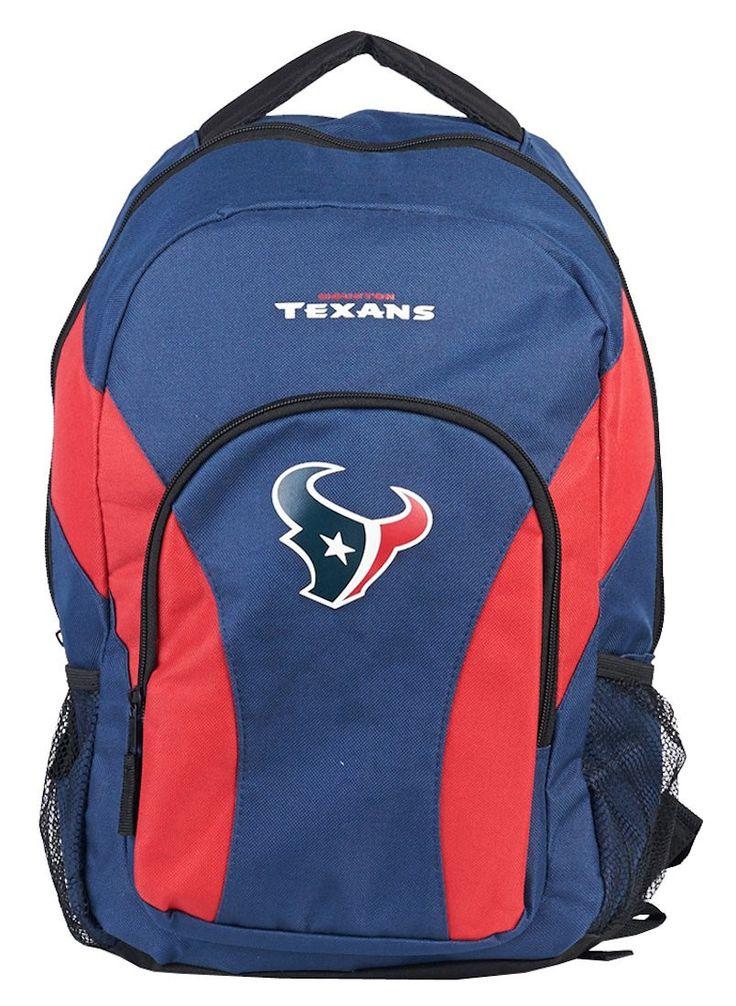Houston Texans Draft Day Navy Back Pack