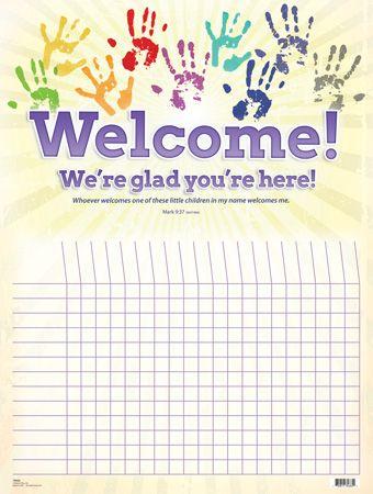 Free Printable Sunday School Attendance Chart cakepins.com