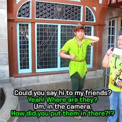 14 Reasons The Peter Pans At Disneyland Are The Most Adorable Thing Ever --- This is the best thing EVER.