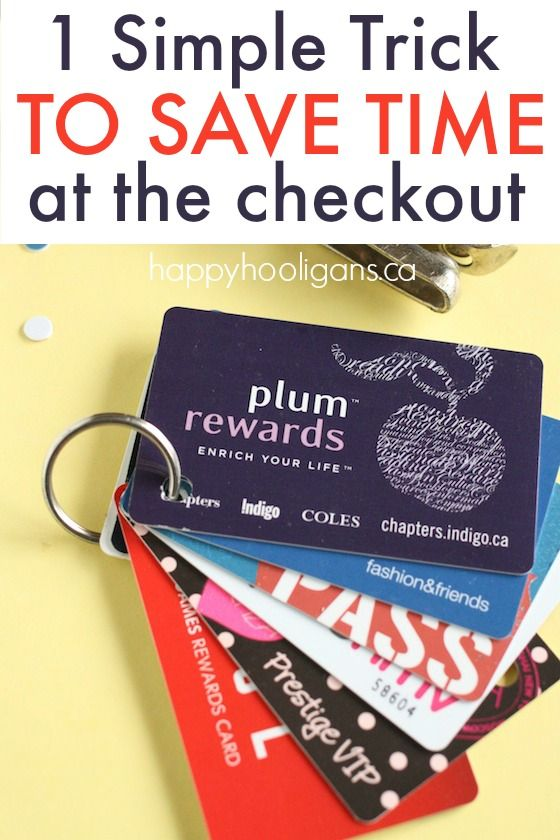 Save time and frustration at the checkout with this 1 simple trick! Free up wallet space and keep all your gift cards, membership cards and discount cards at your finger tips. - Happy Hooligans