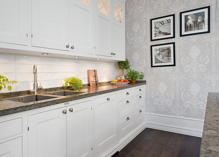 Как выбрать обои для маленькой кухни?
