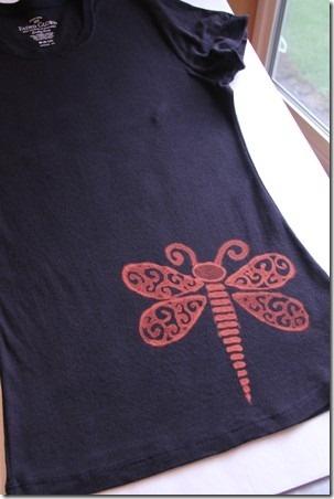 Bleach Pen and Reverse Applique T-Shirts