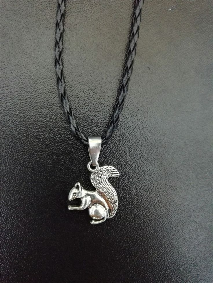 Dean Winchester Squirrel Necklace