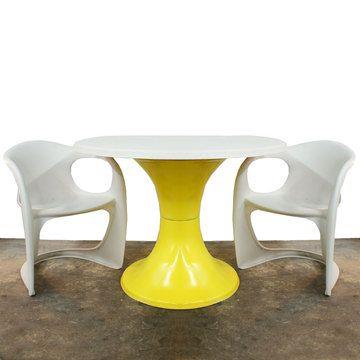 Fiberglass Patio Table