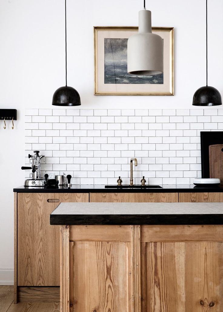 Great Nordic Custom Kitchen - Copenhagen Bespoke - Simple oak kitchen cabinets