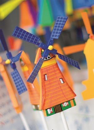 The Dutch Connection - Windmills - Cardcetera.nl