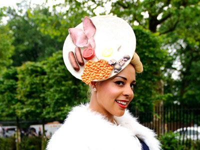 Hats At British Royal Ascot Mad Hattery Pinterest