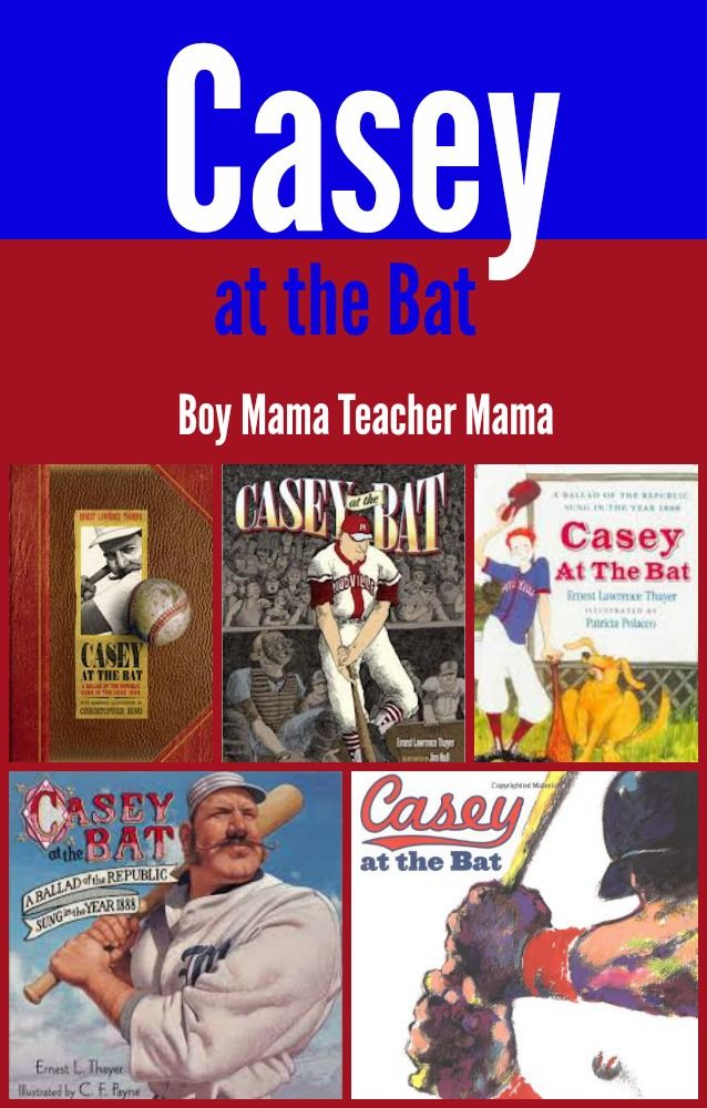 Boy Mama Teacher Mama  Casey at the Bat