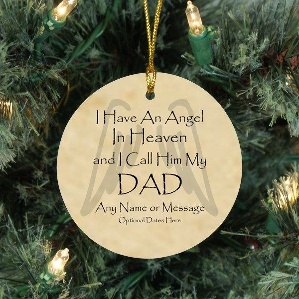 42 best Christmas Memorial Ornaments  Sympathy Gift for Men