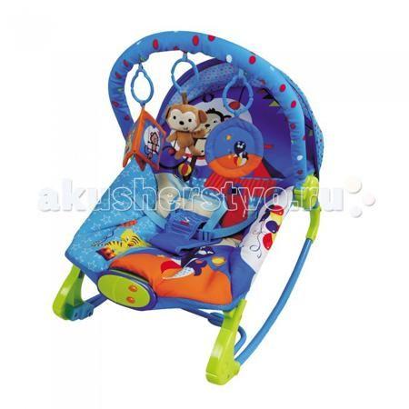 BabyHit Шезлонг RK  — 3080р. -----------------------------------  BabyHit Шезлонг RK  Особенности: Предназначен для детей от рождения Экологически чистые материалы и краски Виброрежим Звуковые эффекты Дуга с навесными игрушками Три положения наклона спинки Полозья для качания Трансформация в кресло-качалку Ограничения по весу ребенка: с опущенной спинкой - 10 кг, с поднятой спинкой - 20 кг.