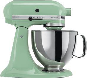 "KitchenAid Colourology ~ Pistachio Green is my ""colour"" according to the colourology quiz"