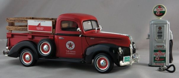 Ford F >> 1940 Ford Pickup Truck with Gas Pump - Texaco | Truck | Pinterest | Ford pickup trucks, Texaco ...