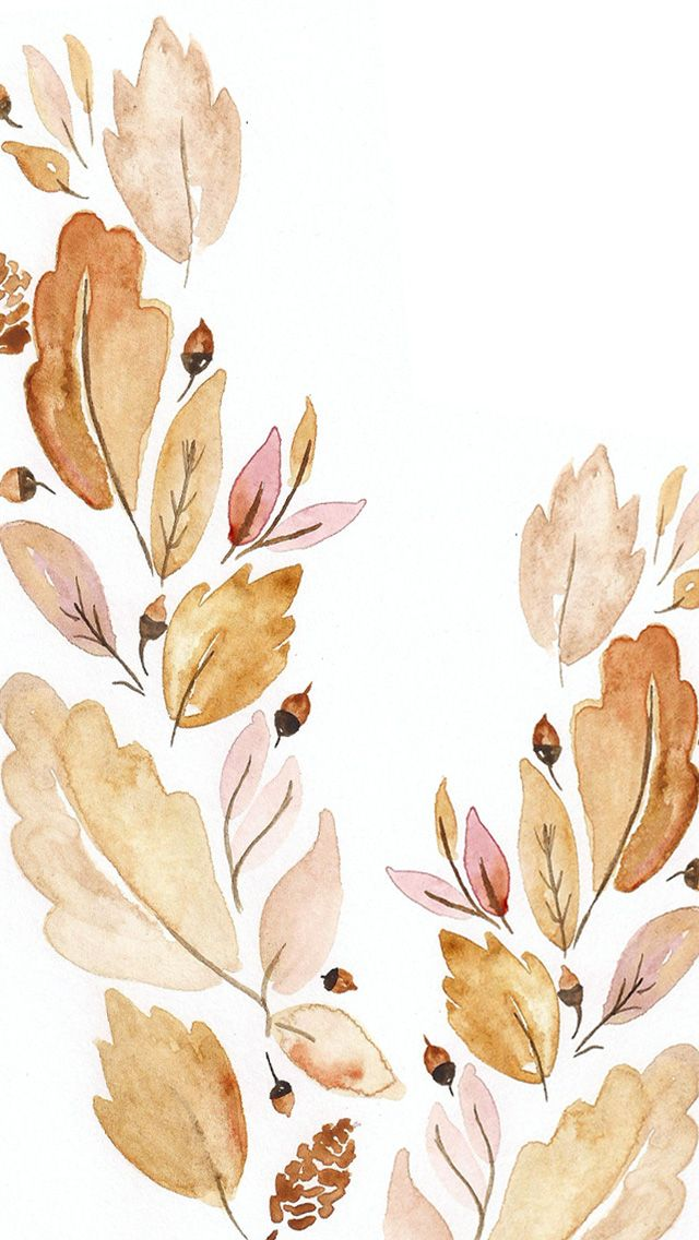 September Digital Watercolor Wallpaper | Kori Clark