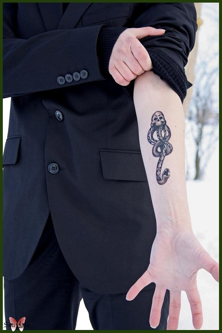 Draco Malfoy Dark Mark Tattoo by ~Blashina on deviantART