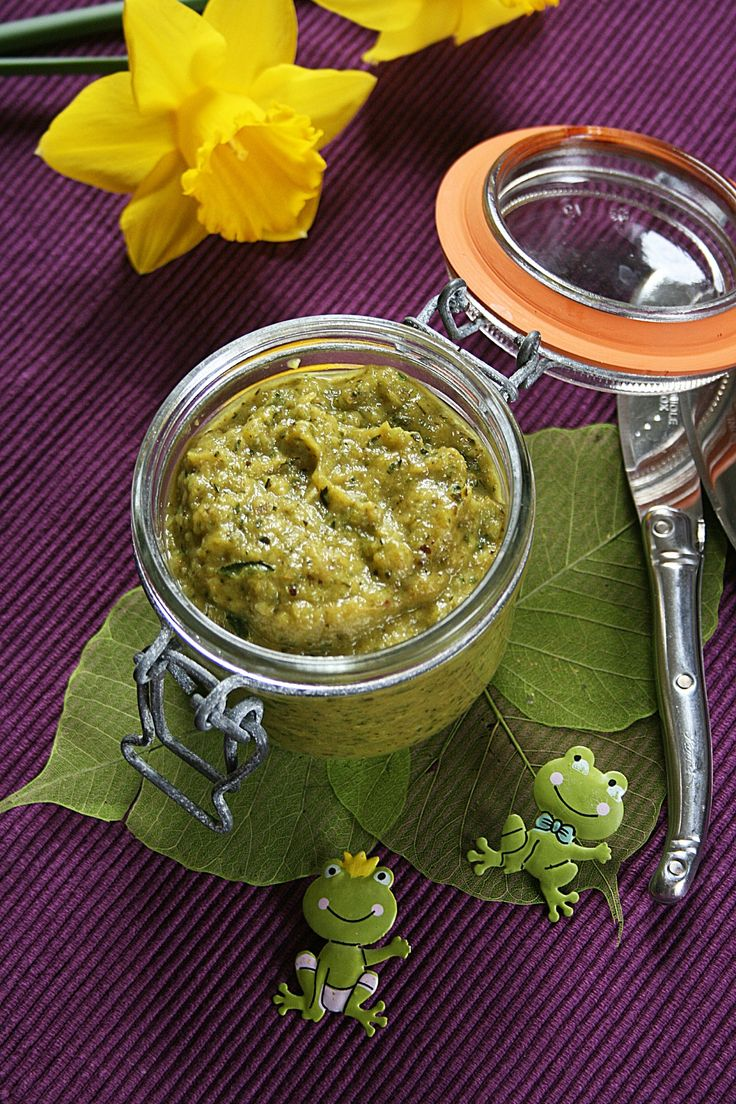 Tartinade aux courgettes et curry