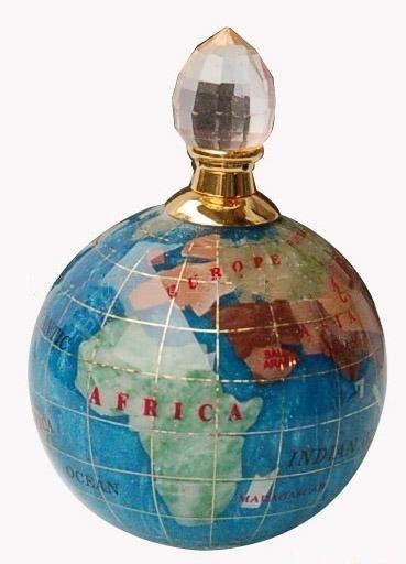 globe perfume bottle