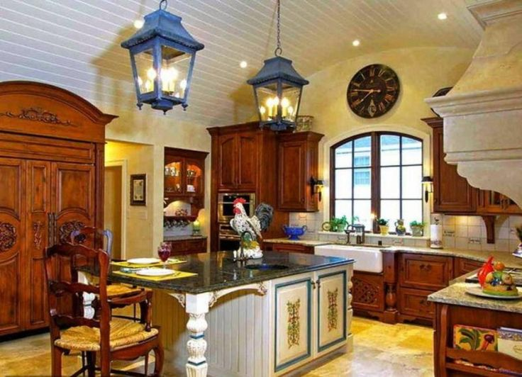 Blue French Country Kitchen: French+country+design+blue+and+yellow