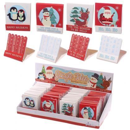 Pilníčky na nehty ve tvaru zápalek s vánočním motivem #vánoce #christmas #accessories #giftideas