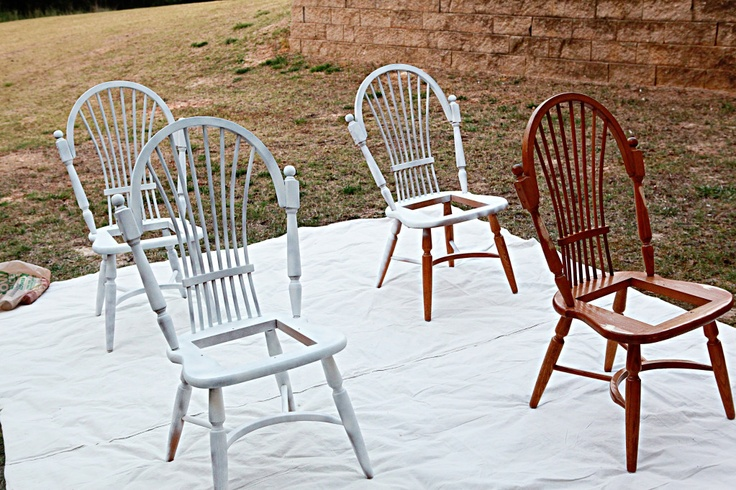 Paint kitchen chairs