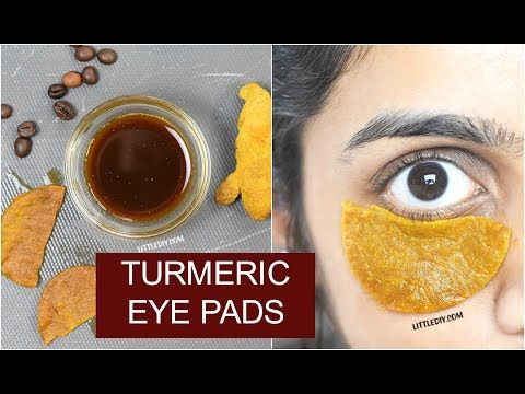 OVERNIGHT TURMERIC EYE PADS FOR DARK CIRCLES - LITTLE DIY ...