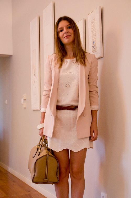 Veste Rose Poudr 233 The Working Girl Veste Mariage Ines