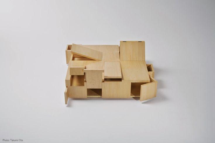 Designer Diary: Awesome transformateur de table basse. 6 idées originales pour le salon