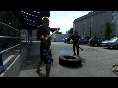 Circuit training with Jason Ellis and Rawdog... Ugh; Rawdog.
