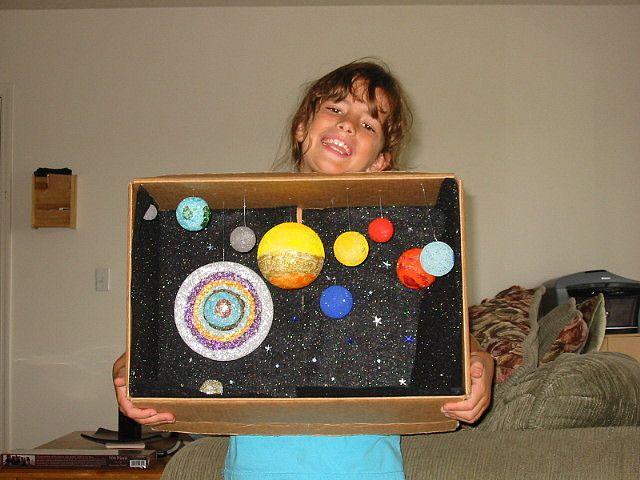 solar system model diorama - photo #39