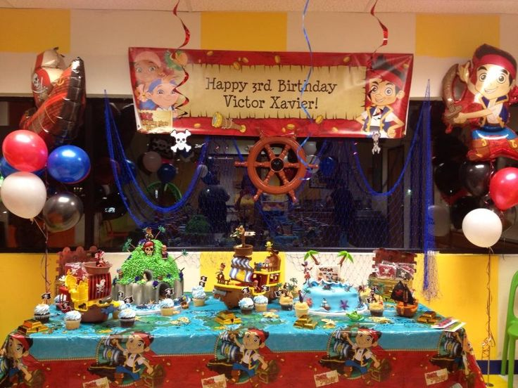 Jake And The Neverland Party Pirates 3rd