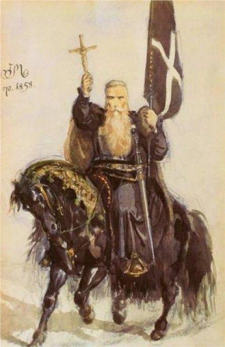 Peter the Hermit by Jan Matejko