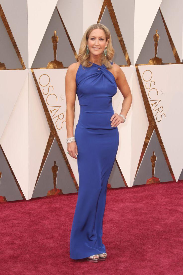 Lara Spencer en la alfombra roja de los Oscar 2016                                                                                                                                                                                 More