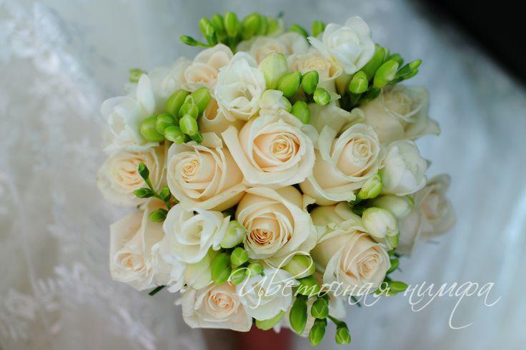 Букет невесты. Фото свадебных букетов.
