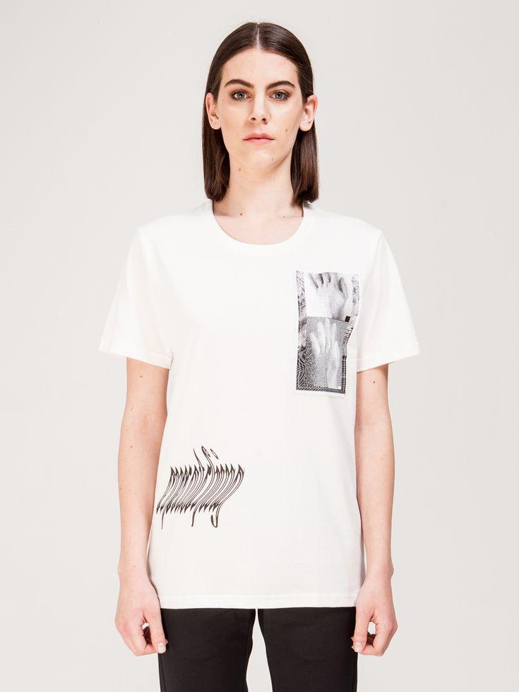 MISBHV , Antwerp Kadın T-shirt Beyaz #shopigo#shopigono17#shoponline#womenswear