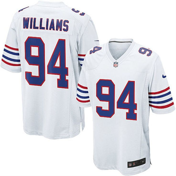 Mario Williams Buffalo Bills Nike Youth Alternate Game Jersey – White