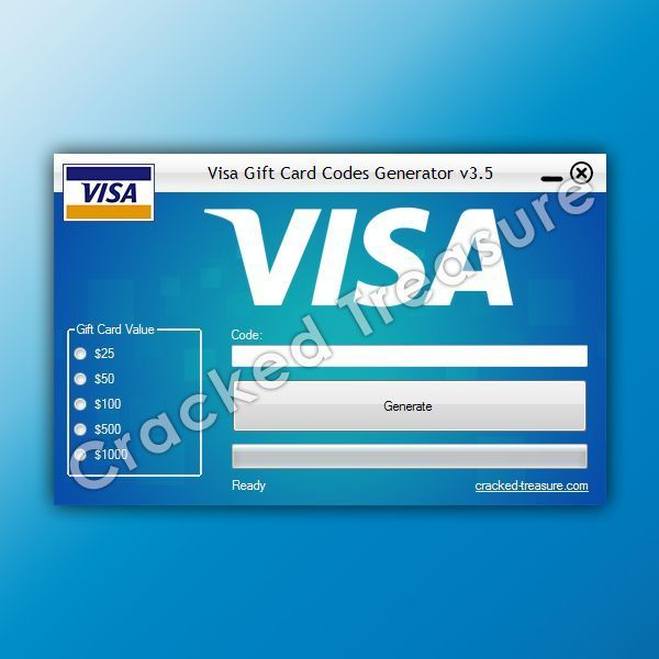 Free Visa Gift Card Buy Virtual Credit Card (VCC) for PayPal