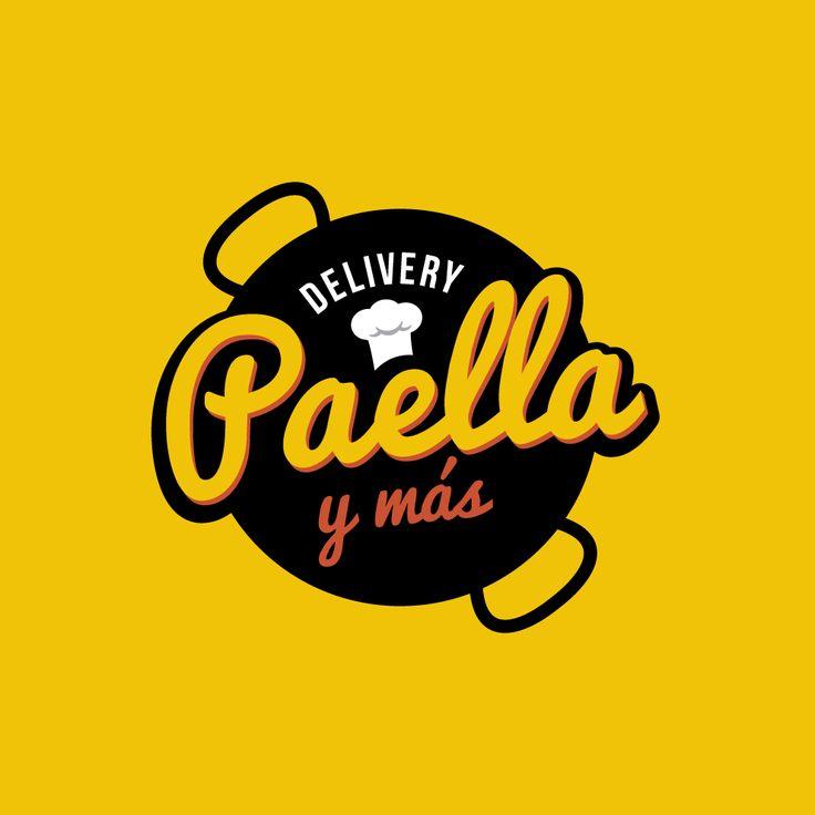 Delivery Food | Viña del Mar #logo #branding #paella #delivery