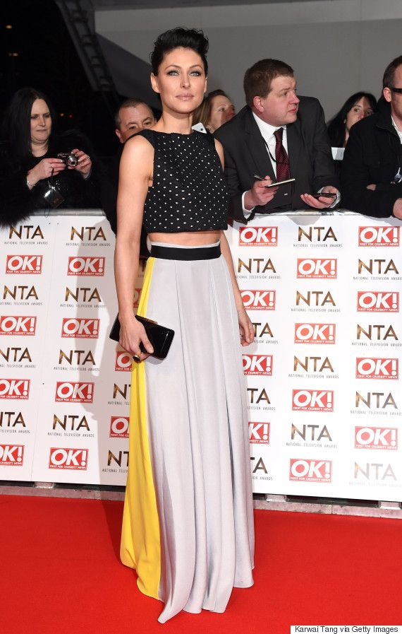 NTAs 2016: Emma Willis Floral Gown Brings A Touch Of Spring To The Red Carpet
