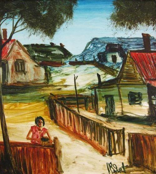 Home. Kevin Charles (Pro) Hart, Australian, (1928-2006)