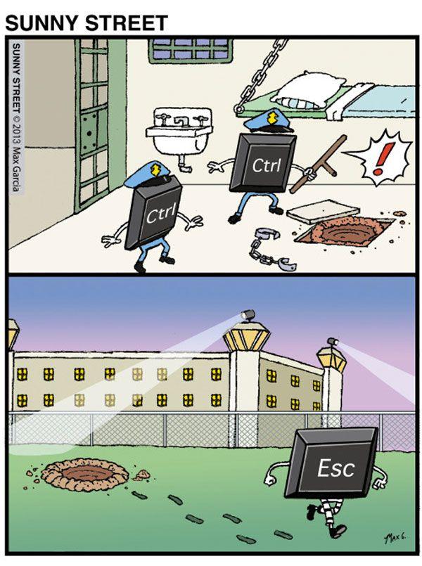 Control y escape. jajaja n.n