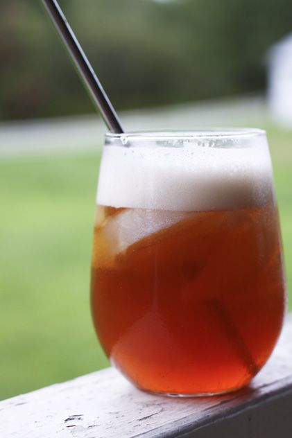 Boiled Cider (Apple Molasses)    http://www.foodiewithfamily.com/2011/09/08/boiled-cider-apple-molasses/