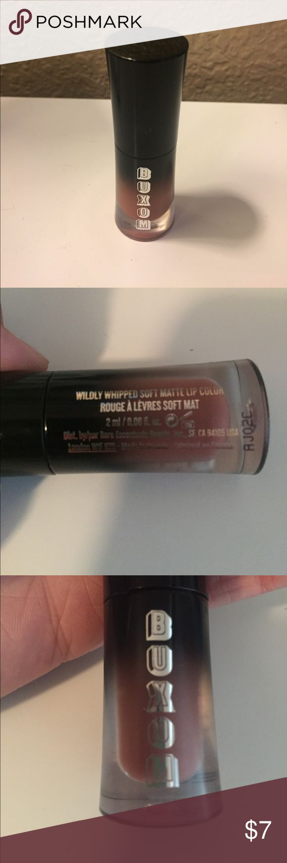Buxom soft matte lipstick Buxom soft matte lipstick in centerfold  (nude pink) buxom Makeup Lipstick