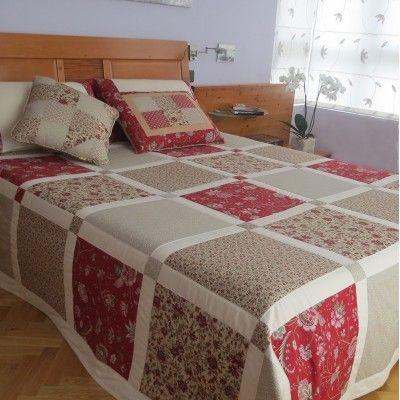 M s de 1000 ideas sobre colchas cama en pinterest - Colchas password para hacer ...