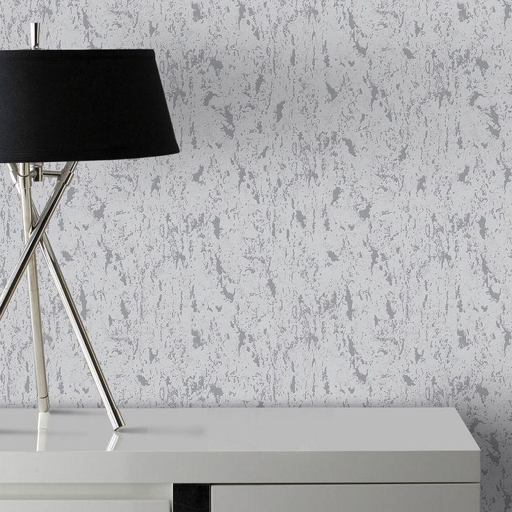 Superfresco 100491 Milan Silver wallpaper Roll Blown