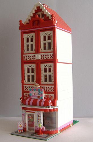 """LEGO Moc Modular """"Lego Friends' Cafe"""""""