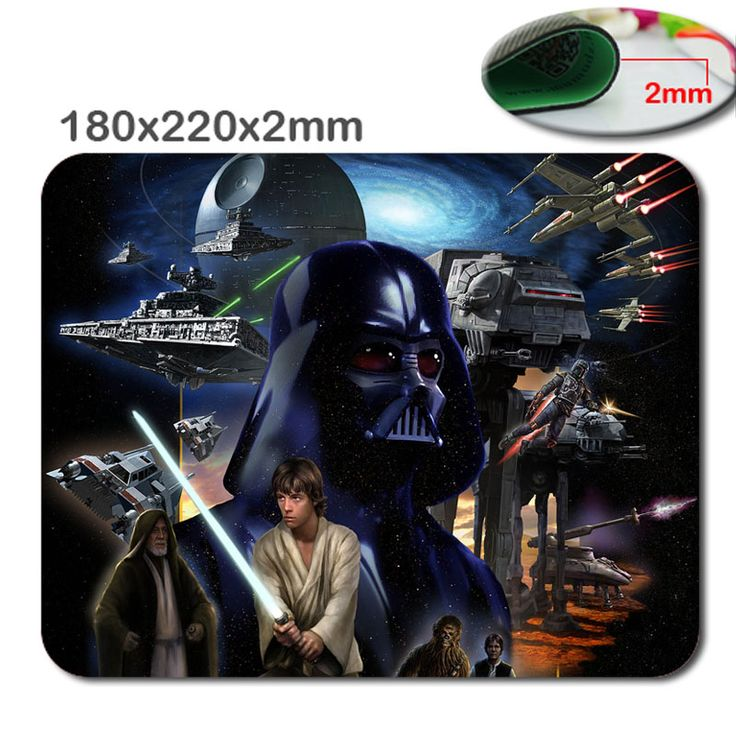 Star war  HD fast print gaming mouse pad printing size 220 * 180 * 2 mm high DIY soft rubber game mouse cool mouse pad