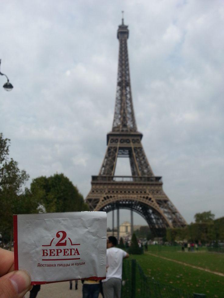 """""""2 Берега"""" в Париже. #paris #travel"""