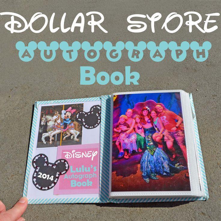 Dollar Store Autograph Book