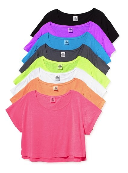 I love color and these shirts!